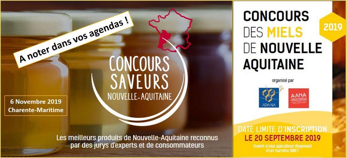 Concours des miels de Nouvelle Aquitaine