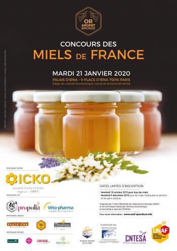 Concours des miels de France 2020